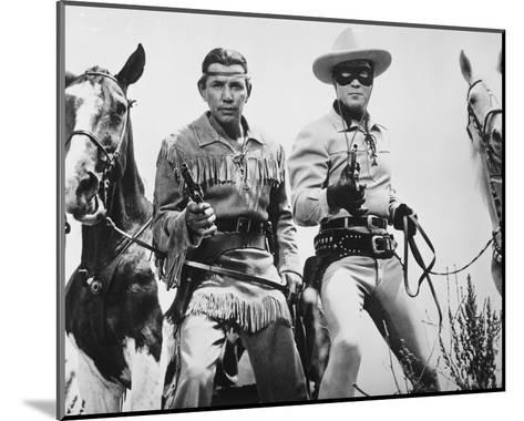 The Lone Ranger--Mounted Photo