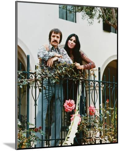 Sonny and Cher--Mounted Photo