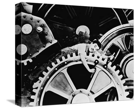 Modern Times--Stretched Canvas Print