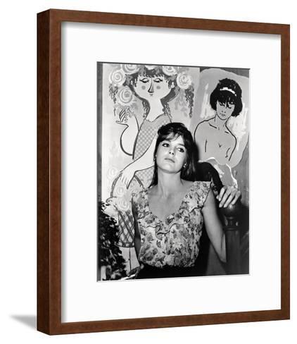 The Singing Nun--Framed Art Print