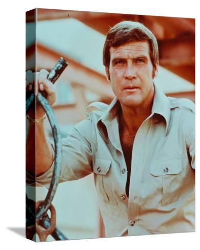The Six Million Dollar Man--Stretched Canvas Print