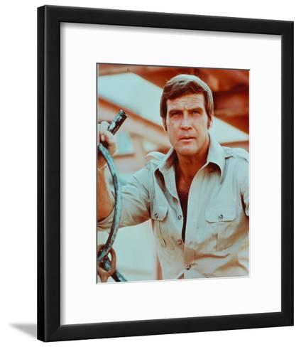 The Six Million Dollar Man--Framed Art Print