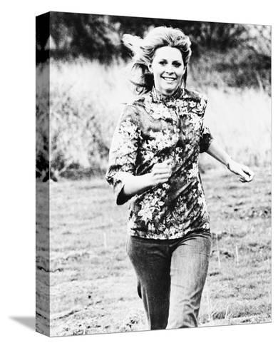 The Bionic Woman--Stretched Canvas Print
