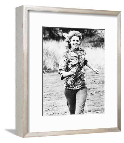 The Bionic Woman--Framed Art Print