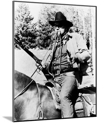 True Grit--Mounted Photo