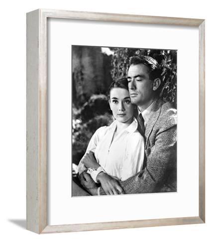 Audrey Hepburn--Framed Art Print