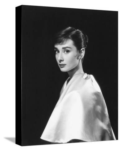 Audrey Hepburn--Stretched Canvas Print