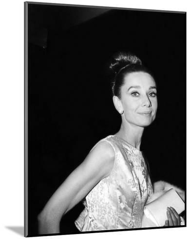 Audrey Hepburn--Mounted Photo
