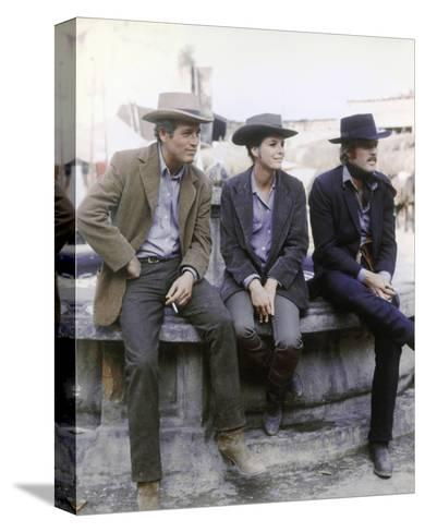 Butch Cassidy and the Sundance Kid--Stretched Canvas Print