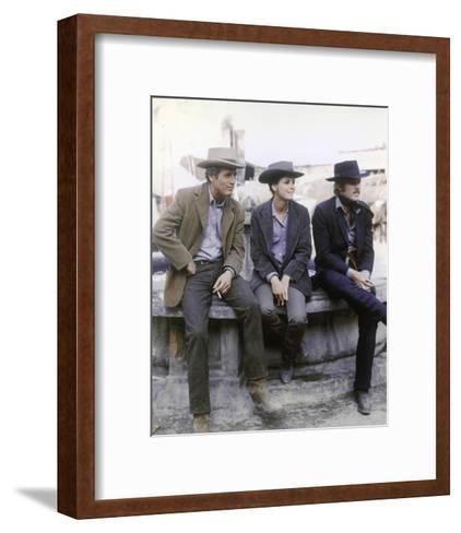 Butch Cassidy and the Sundance Kid--Framed Art Print