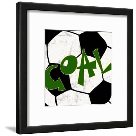 Goal-Anna Quach-Framed Art Print