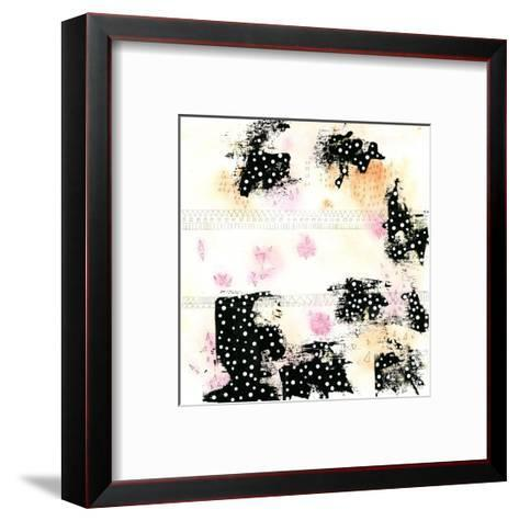 Pink and Black-Sarah Ogren-Framed Art Print