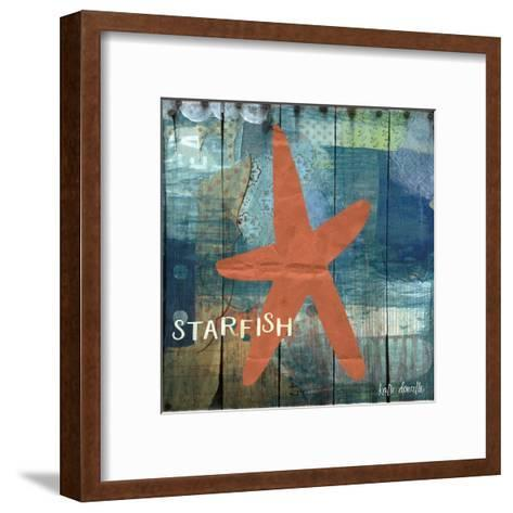 Starfish Collage-Katie Doucette-Framed Art Print