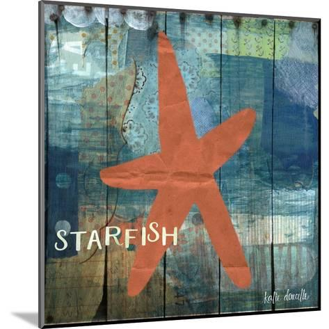 Starfish Collage-Katie Doucette-Mounted Art Print