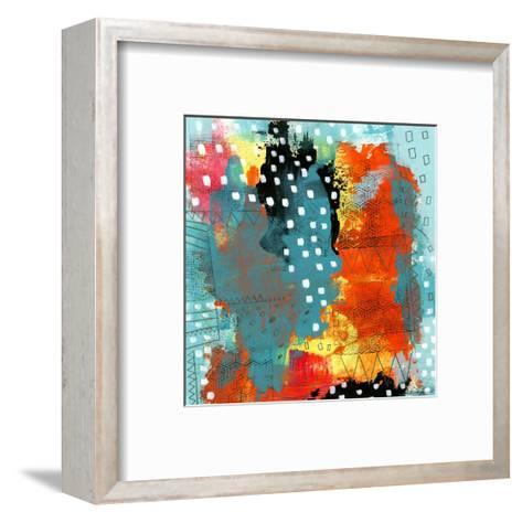 Geometric Abstract I-Sarah Ogren-Framed Art Print