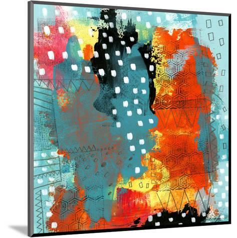 Geometric Abstract I-Sarah Ogren-Mounted Art Print