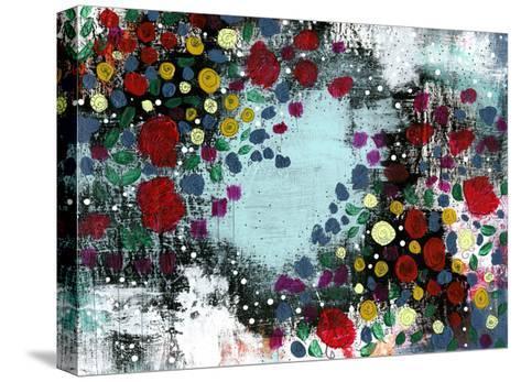 Flower Garden-Sarah Ogren-Stretched Canvas Print