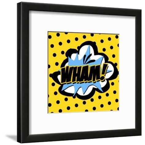 Wham-Anna Quach-Framed Art Print