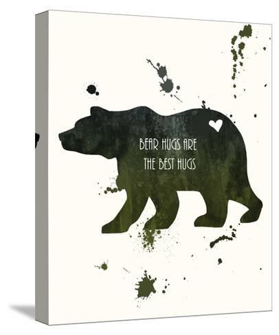 Bear-Anna Quach-Stretched Canvas Print