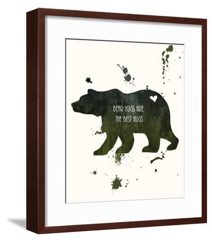 Bear-Anna Quach-Framed Art Print