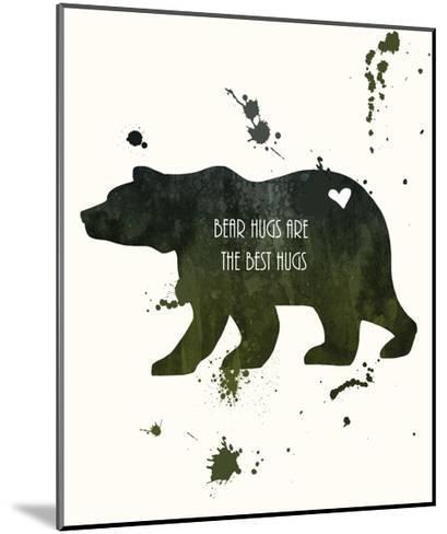 Bear-Anna Quach-Mounted Art Print
