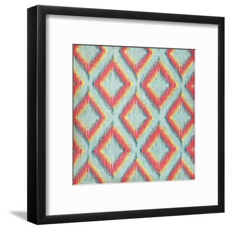 Coral Icat-Jennifer Pugh-Framed Art Print