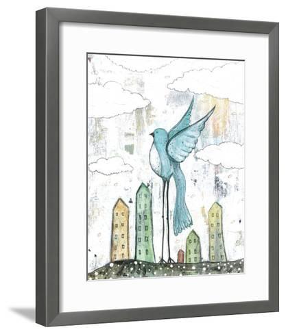 Blue Bird-Sarah Ogren-Framed Art Print