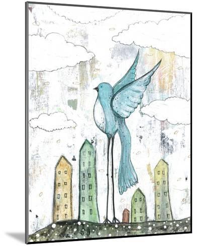 Blue Bird-Sarah Ogren-Mounted Art Print