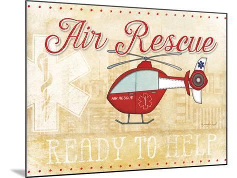 Air Rescue-Jennifer Pugh-Mounted Art Print