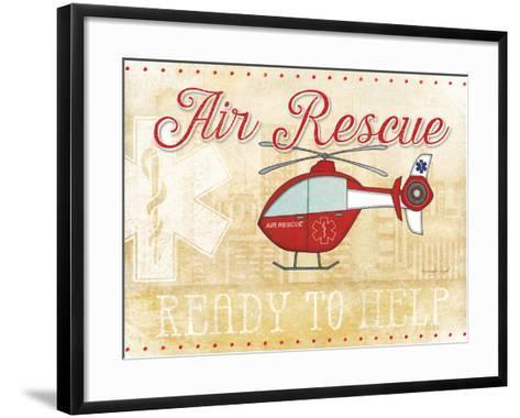 Air Rescue-Jennifer Pugh-Framed Art Print