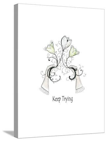 Keep Trying-Sarah Ogren-Stretched Canvas Print
