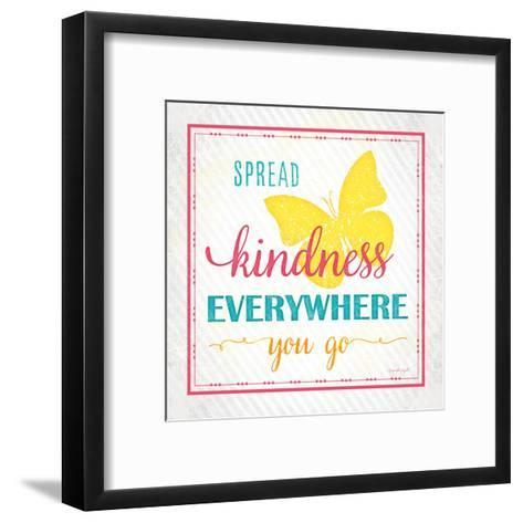 Spread Kindness-Jennifer Pugh-Framed Art Print