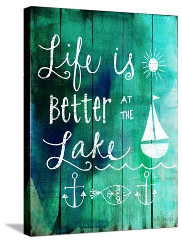 Better at the Lake-Katie Doucette-Stretched Canvas Print