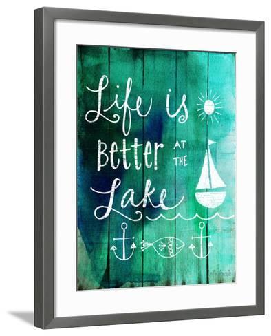 Better at the Lake-Katie Doucette-Framed Art Print