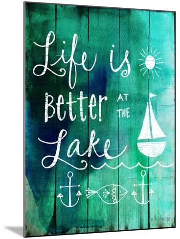Better at the Lake-Katie Doucette-Mounted Art Print