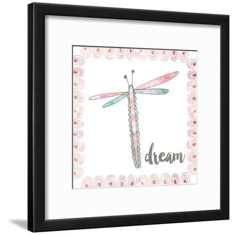 Dragonfly Dream-Katie Doucette-Framed Art Print