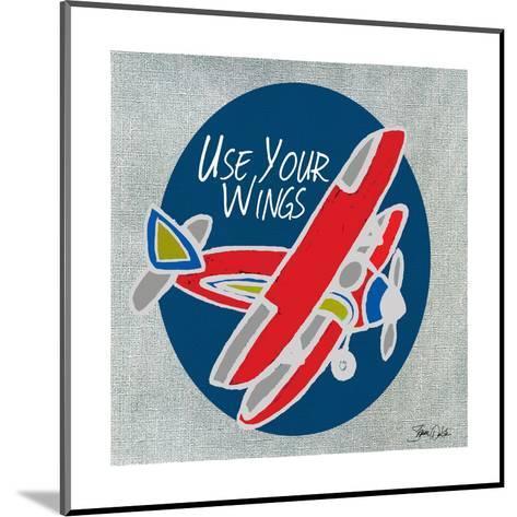 Airplane One-Shanni Welsh-Mounted Art Print