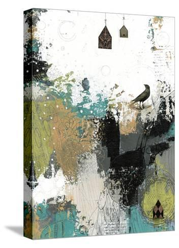 That's What the Crow Said-Sarah Ogren-Stretched Canvas Print