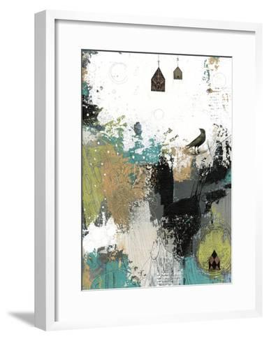 That's What the Crow Said-Sarah Ogren-Framed Art Print