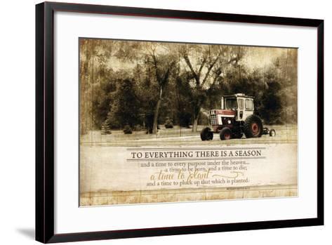 Everything There Is a Season-Jennifer Pugh-Framed Art Print