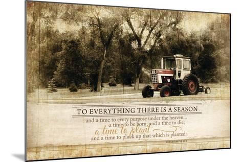 Everything There Is a Season-Jennifer Pugh-Mounted Art Print