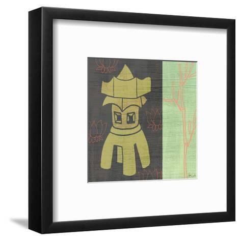 Pagoda-Shanni Welsh-Framed Art Print
