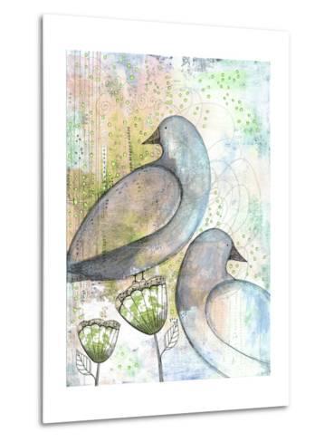 Two Birds-Sarah Ogren-Metal Print