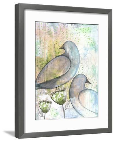 Two Birds-Sarah Ogren-Framed Art Print