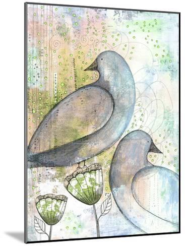 Two Birds-Sarah Ogren-Mounted Art Print