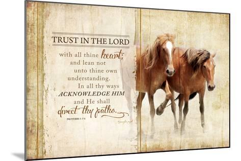 Trust in the Lord-Jennifer Pugh-Mounted Art Print