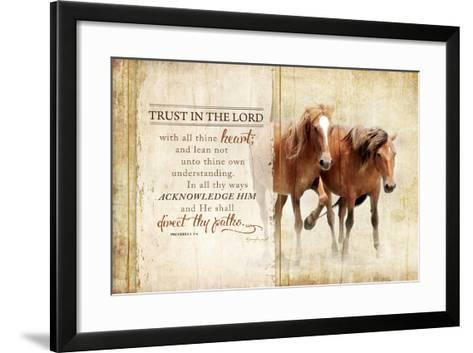 Trust in the Lord-Jennifer Pugh-Framed Art Print