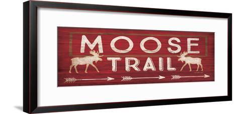 Moose Trail-Jennifer Pugh-Framed Art Print
