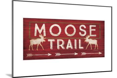 Moose Trail-Jennifer Pugh-Mounted Art Print
