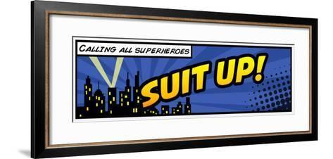 Suit Up-Anna Quach-Framed Art Print